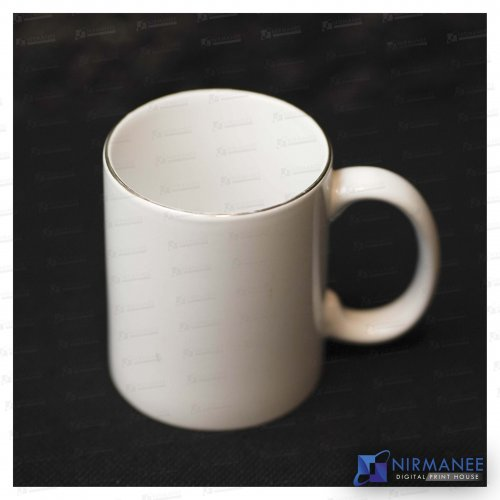 Gold Rim Color Mug